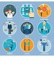 Variety Human Resource Icons vector image vector image