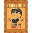 Barber Shop Poster vector image
