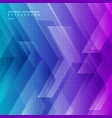 abstract blue and purple gradient color tech vector image vector image
