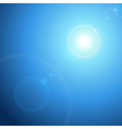 Abstraction light with lens flare background vector | Price: 1 Credit (USD $1)