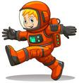 An astronaut vector image vector image