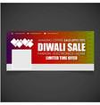 celebrating dewali card with elegent design