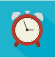 Clock time design vector image