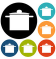 hat chef and kitchen vector image vector image