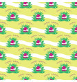 seamless easter egg pattern vector image