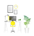 workplace background trends vector image vector image