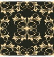 Artistic Graphic Design on Black Background vector image