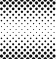 Abstract black and white curved octagon pattern vector image vector image
