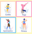 attractive overweight women healthy lifestyle vector image vector image