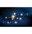 Constellaton and Galaxy vector image vector image