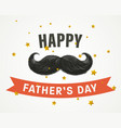 fathers day postcard vector image