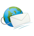 Internet email icon vector | Price: 1 Credit (USD $1)