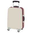 Luggaege wheeled vector image vector image
