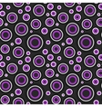 Modern circles pattern vector image vector image