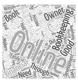 Redefining Your Business Word Cloud Concept vector image vector image