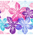 Seamless floral spring pattern vector image vector image