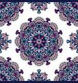 vintage decorative tiled design vector image vector image