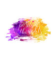 watercolor imitation brushed background vector image vector image