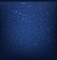blue space background vector image vector image