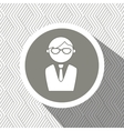 businessman isolated design vector image
