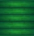 dark green wooden planks texture vector image vector image