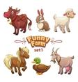 Funny farm vector image