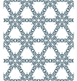 geometric abstract monochrome mosaic seamless vector image vector image