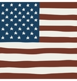 Hand draw squared flag of USA vector image vector image