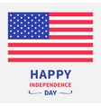 Happy independence day United states of America vector image