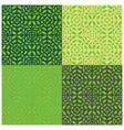 Leaves Seamless Pattern Set of Four