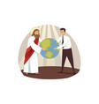 religion christianity business support success vector image vector image