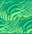 seamless pattern of abstract green grass vector image vector image