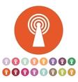 The wireless icon wifi symbol vector image vector image