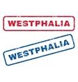 Westphalia Rubber Stamps vector image vector image