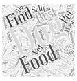 where to find best food for a nutritious dog vector image vector image