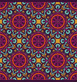 abstract geometric ethnic seamless pattern vector image vector image
