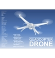 Drone Technical vector image vector image