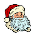 santa claus character christmas and new year vector image vector image