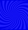 blue geometrical spiral background - graphic vector image vector image