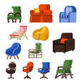 Chair comfortable furniture armchair and
