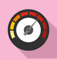 dashboard icon flat style vector image