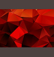 fiery themed low poly design background vector image