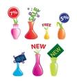 new vase icon vector image vector image