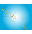 Soloman island vector image vector image