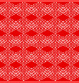 tile red and white pattern or background wallpaper vector image