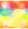 Triangle colorful abstract background Template for vector image