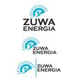 Zuwa energy logo vector image vector image