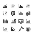 Business data analytics icons Measurements and