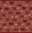 chinese traditional lanterns seamless pattern on vector image vector image