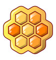 honey combs icon cartoon style vector image